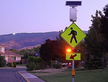 Sidewalk Crosswalk